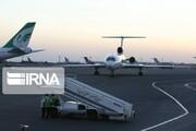 اصفهان مقصد اجباری ۵ پرواز داخلی؛ فرود اجباری هواپیماها به خاطر طوفان