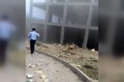 فیلم   انفجار در دانشگاه علمی کاربردی ارومیه