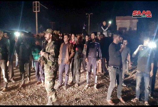 ارتش سوریه به مرز رسید، پرچم سوریه مقابل چشمان ترکیه برافراشته شد