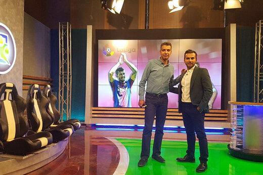فیلم | حمله تند مدیر اخراجی پرسپولیس به عادل فردوسی پور و دفاع میثاقی از او با واژه استاد!