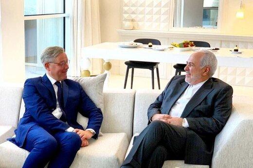 Iran, Germany discuss regional developments, JCPOA