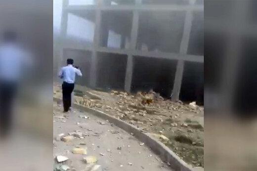 فیلم | انفجار در دانشگاه علمی کاربردی ارومیه