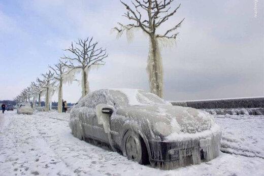 اینفوگرافیک/ کشورهایی که یخ زدهاند!