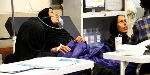 بیش از ۴ هزار اهوازی به علت باران آلوده به بیمارستان رفتند