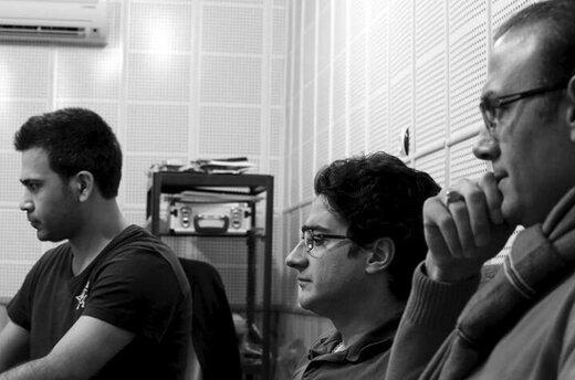 تصاویر| همایون شجریان و علیرضا قربانی در پشت صحنه ضبط قطعهای از آلبوم جدیدشان