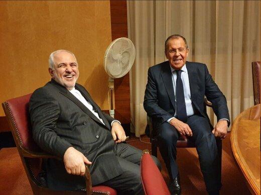 دیدار ظریف و لاوروف در ژنو