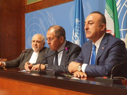 بیانیه مشترک ایران، روسیه و ترکیه بعنوان ضامنین آستانه