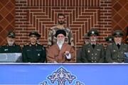 این فرماندهان بلندپایه ارتش و سپاه رهبری را در مراسم سان دیدن همراهی کردند +عکس