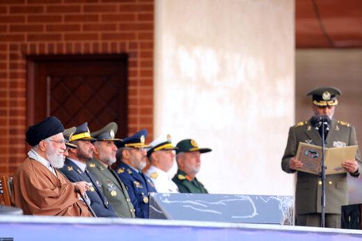 مراسم مشترک دانشآموختگی دانشجویان دانشگاههای افسری ارتش در دانشگاه پدافند هوایی خاتمالانبیاء(ص)