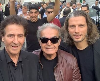 عکس | حمید لولایی و فوتبالیست مشهور در صحنهای از یک فیلم تازه