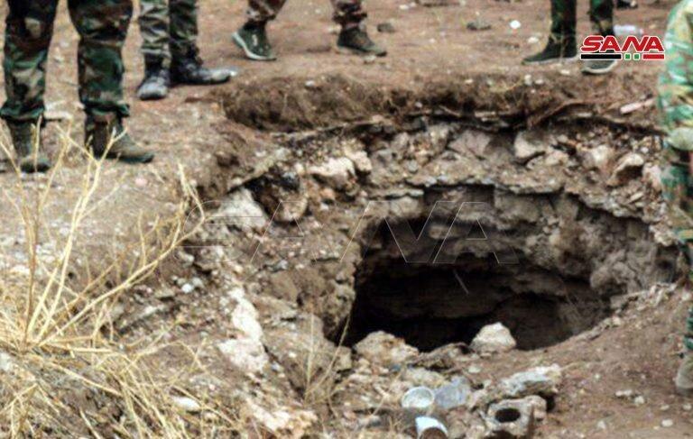 در تونلهای داعش در دیرالزور چه چیزهایی کشف شد؟