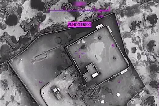 فیلم | تصاویر پهپادی از لحظه انفجار خانه ابوبکر البغدادی