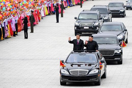 فیلم   خودروهای گرانقیمت رهبر کره شمالی