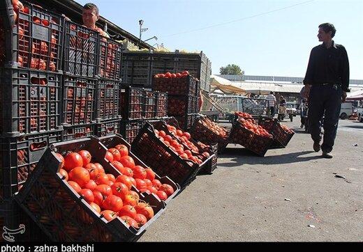 قیمت ناچیز سبزیجات در میادین میوه و تره بار؛ جدول