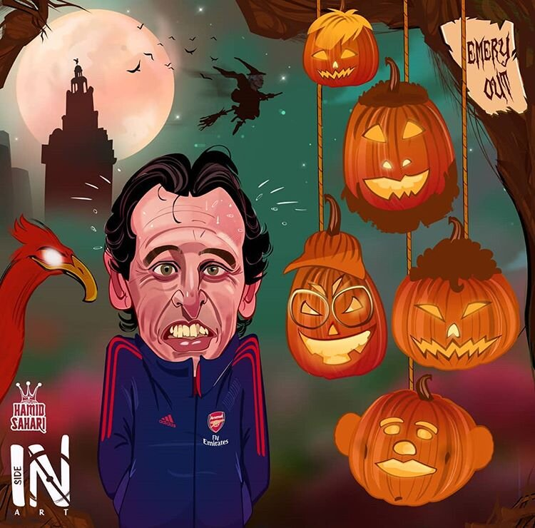 خاطره بد مربی توپچیها از هالووین!