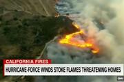 فیلم | آتشسوزی مهیبی که از فضا هم دیده شد
