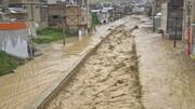 سیلاب در تربت جام یک کشته گرفت