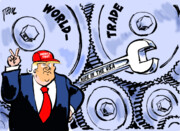 شیرینکاری جدید ترامپ در تجارت جهانی!