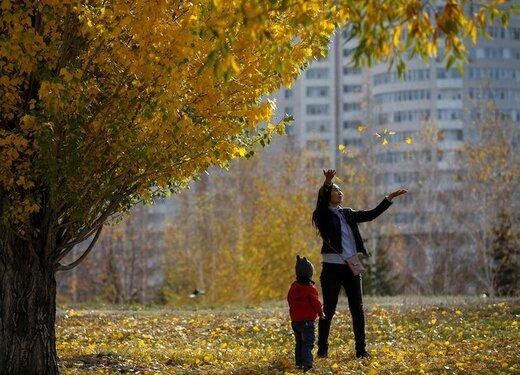 پاییز در قزاقستان