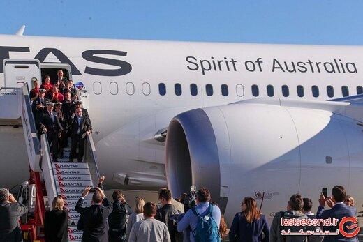 طولانی ترین پرواز جهان بعد از ۱۹ ساعت با موفقیت بر زمین نشست