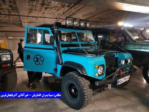 تصاویر| همایش خودروهای اسپورت، کلاسیک و آفرود در ارومیه