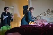 گوهر خیراندیش در صحنه یک فیلم در آمریکا/ عکس