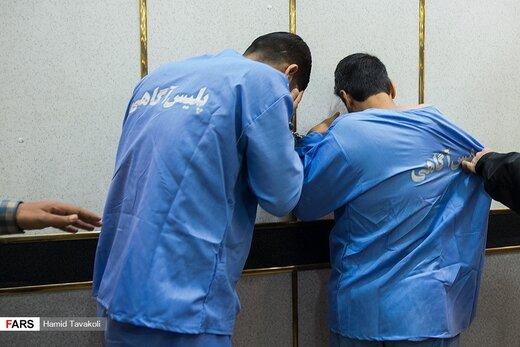 دستگیری باند آدم ربایی در تهران