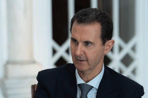 حمله لفظی اسد علیه ترامپ