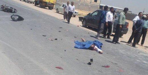 راننده سمند، روی عابران پیاده راند و دو نفر را کشت