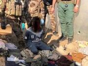 این نوجوان قصد داشت در بغداد عملیات تروریستی انجام دهد /عکس