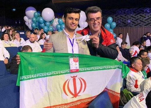 جوان کردستانی مدال نقره دومین دوره مسابقات آزاد مهارت اوراسیا را کسب کرد