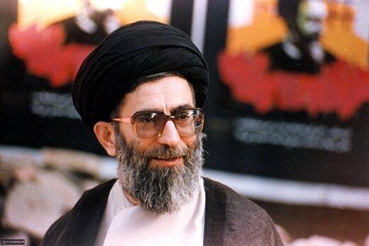 فیلم تاریخی که سایت رهبری منتشر کرد/ خواهش وزیر شعار از آیتالله خامنهای و فریاد مرگبر آمریکا