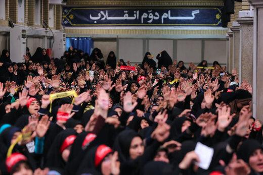 دیدار دانشجویان و دانشآموزان با رهبر معظم انقلاب اسلامی