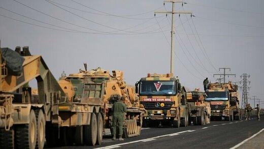 ورود تجهیزات نظامی ترکیه به سوریه
