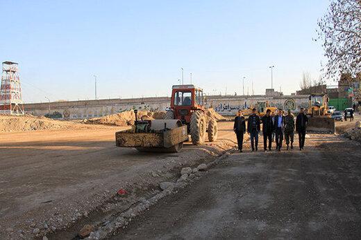 احداث خیابان اردیبهشت  اصفهان تا پایان سال جاری/راه اندازی BRT مسجد سید