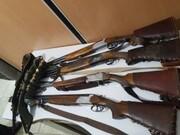 کشف و ضبط اسلحه های غیرمجاز  از متخلفین زیست محیطی در خرم آباد