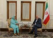 Pakistan envoy bids farewell to Zarif