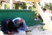 فیلم | مصرف علنی مواد مخدر در چندقدمی ساختمان شهرداری در تهران!