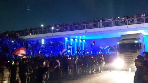 فیلم | دیشب در کنسولگری ایران در کربلا چه گذشت؟