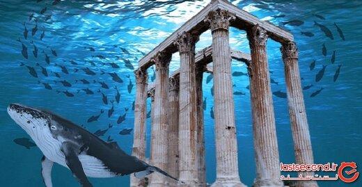 معبدی باستانی که در شهر زیرآبی گمشده در مصر کشف شد!