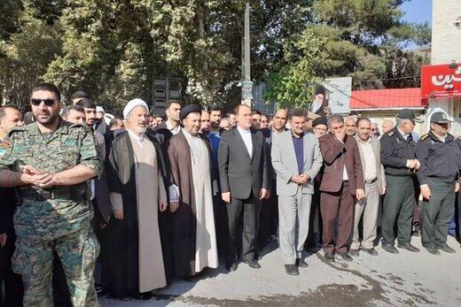 حاجی بابایی :  امروز سخنگفتن با ترامپ را ننگ ملت ایران میدانیم