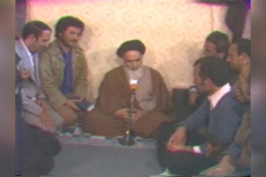 فیلم | اولین باری که امام خمینی گفتند: آمریکا هیچ غلطی نمیتواند بکند