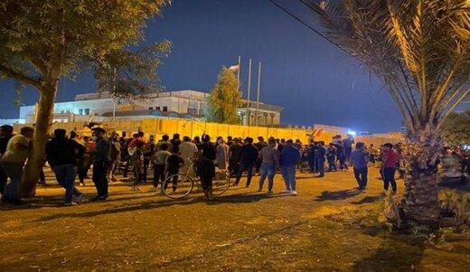 عودة الهدوء إلى محيط القنصلية الإيرانية في كربلاء
