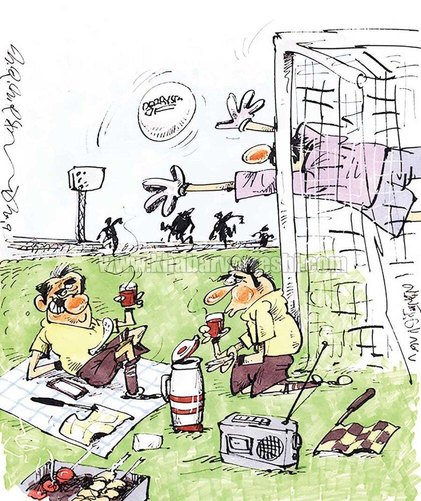 وضعیت کمکداوران پشت دروازه را ببینید!