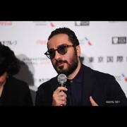 نوید محمدزاده در ژاپن جایزه گرفت