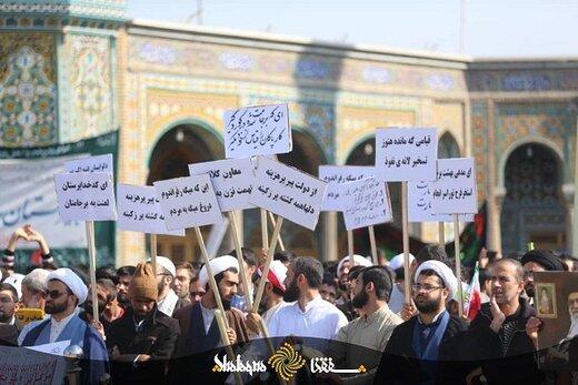 توهین به حسن روحانی آزادِ آزادِ آزاد است؟/چند نکته خطاب به تهدیدکنندگان رئیس جمهور به «استخر فرح»