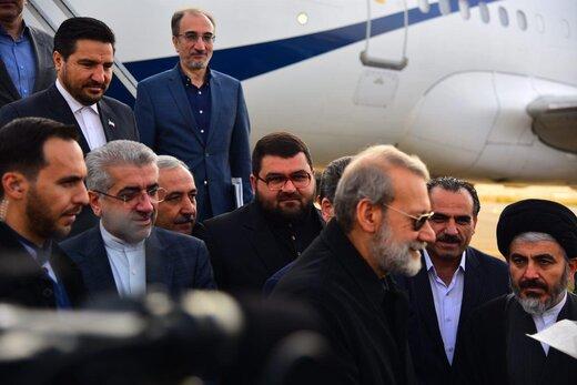 رییس مجلس و وزیر نیرو وارد ارومیه شدند