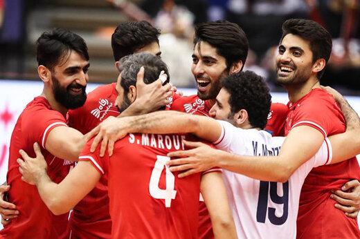 پیروزی راحت والیبال ایران مقابل چینتایپه