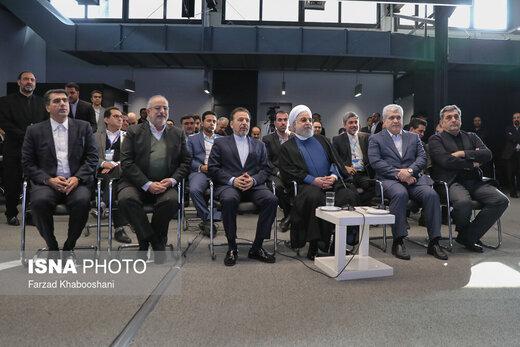 افتتاح رسمی کارخانه نوآوری آزادی با حضور رییس جمهور