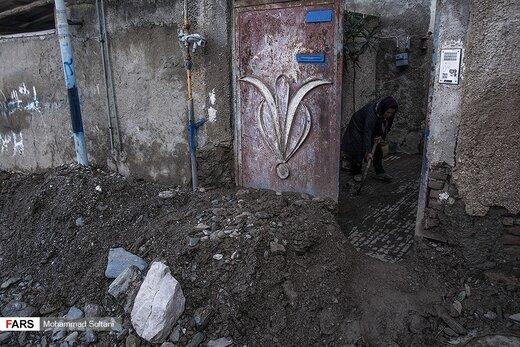 خسارات سیل در مازندران